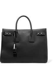 Saint Laurent Sac De Jour medium textured-leather tote