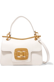 Miu Miu Lips textured-leather shoulder bag