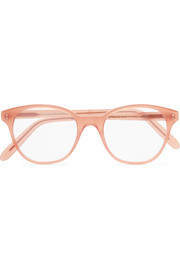 Cat-eye acetate optical glasses