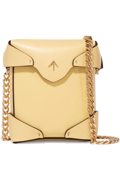 Manu Atelier - Pristine Micro Leather Shoulder Bag - Yellow