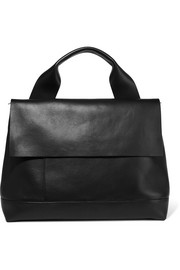 Marni Halo Pod leather tote