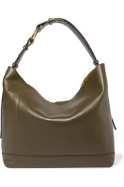 City Pod leather tote