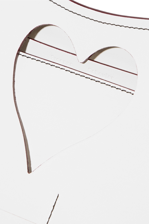 Proenza Schouler Curl cutout leather clutch