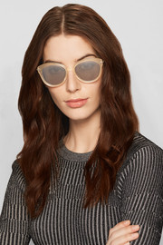Wright cat-eye acetate sunglasses