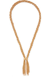 Aurélie Bidermann Miki gold-plated necklace