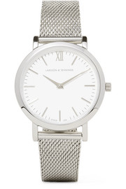 Larsson & Jennings Lugano stainless steel watch