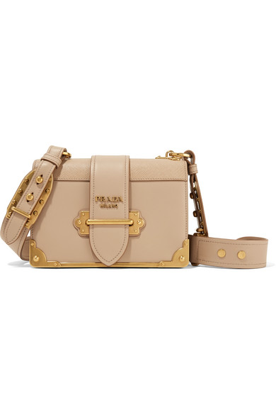d2ab8ae94a1c Prada | Cahier leather shoulder bag | NET-A-PORTER.COM