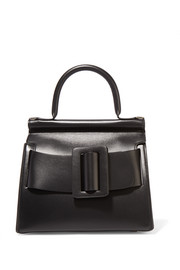 Karl24 small buckled leather tote