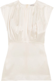 Hillier Bartley Plimpton silk-satin top