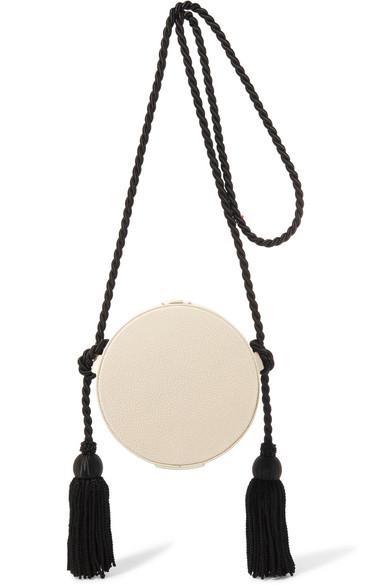 0bc80d6f88 Hillier Bartley. Circle Tasseled Leather And Stingray Shoulder Bag