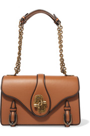 The City Knot leather shoulder bag