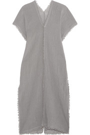 Chaac tasseled cotton-gauze dress