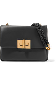 Natalia medium leather shoulder bag