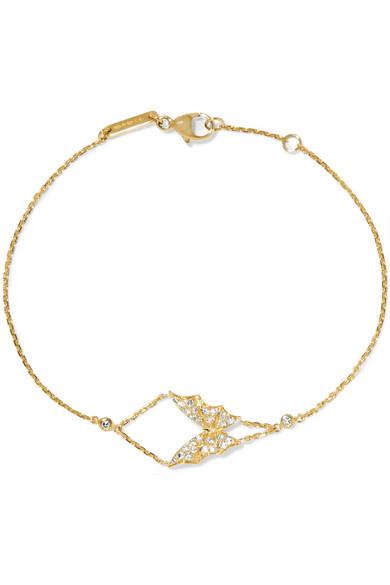 Voler La Nuit 18 Carats Bracelet Diamant Or - Taille Stephen Webster Tm6qS