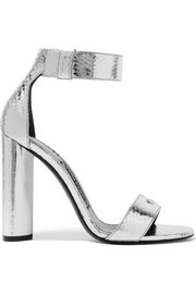 Metallic ayers sandals