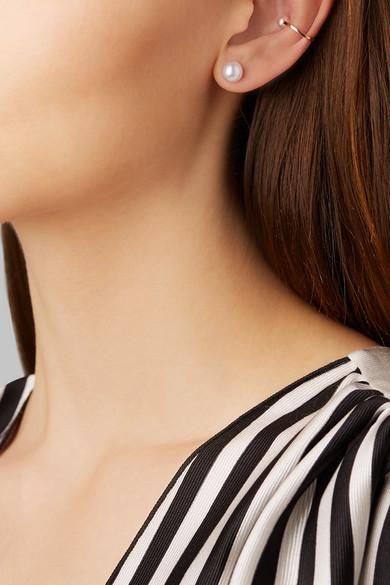 Sophie Bille Brahe Petit Perle 14-karat Gold Pearl Earring dIZR8