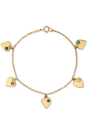Jennifer Meyer 18-karat gold multi-stone bracelet