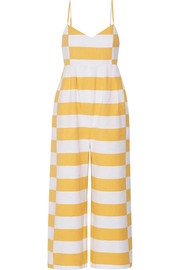 Mara Hoffman Striped organic cotton jumpsuit