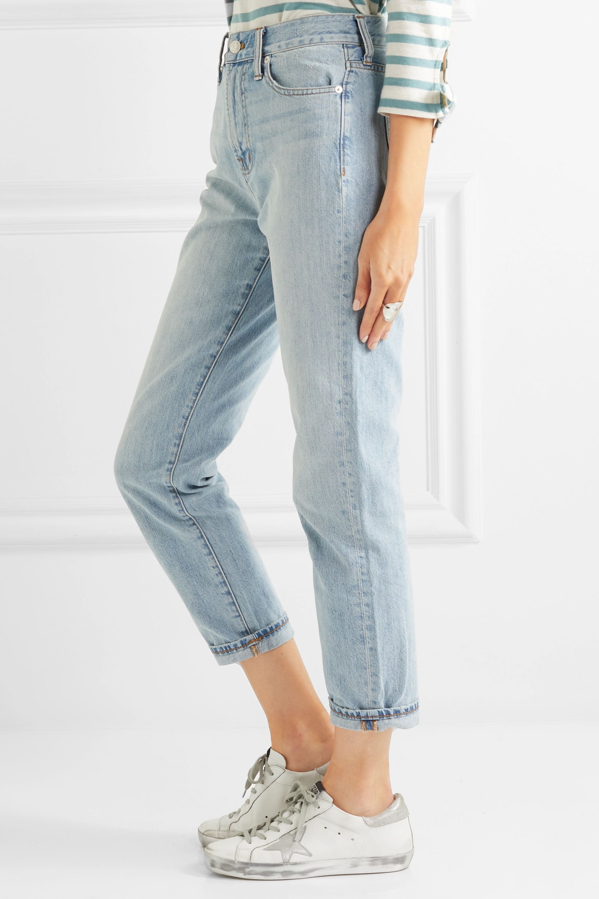 Madewell The Perfect Summer high-rise straight-leg jeans
