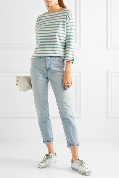 71e311f5eec Madewell. The Perfect Summer high-rise straight-leg jeans