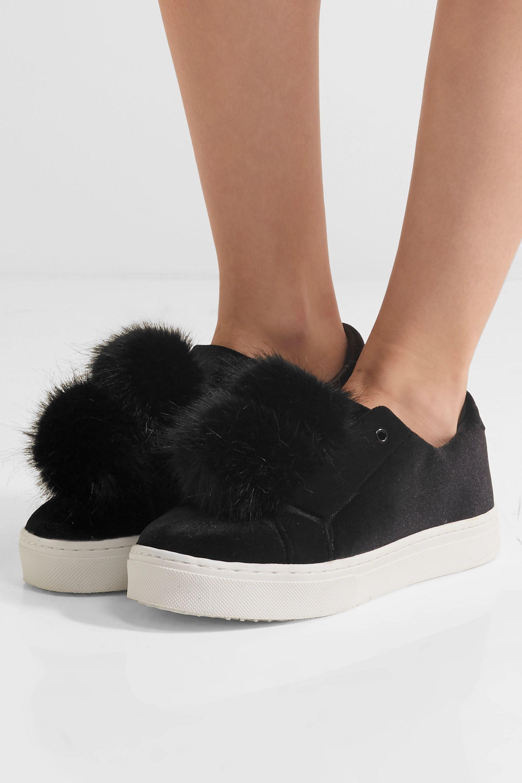 sam edelman velvet sneakers