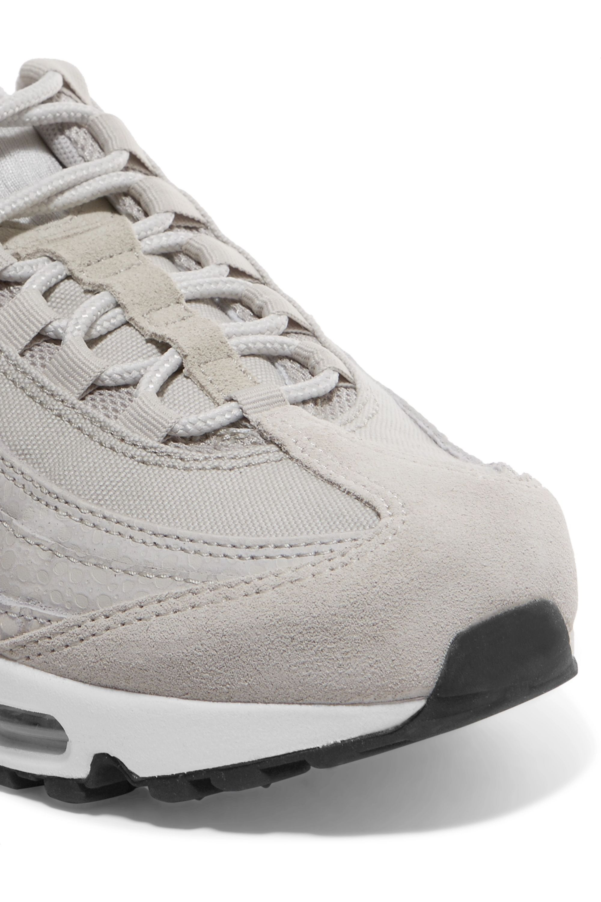 Baskets en daim gaufré et en toile Air Max 95