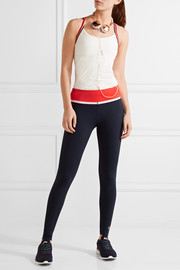 Tory Sport Color-block stretch-Tactel leggings