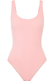 The Anne-Marie ribbed swimsuit