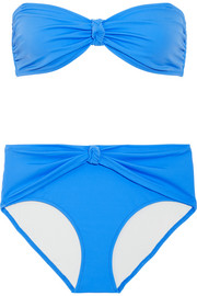Solid and Striped The Whitney bandeau bikini
