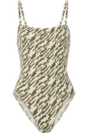 Eres Aquarelle printed swimsuit