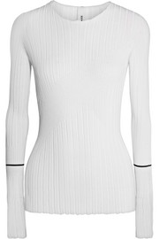Georgia Alice Ribbed stretch-knit top
