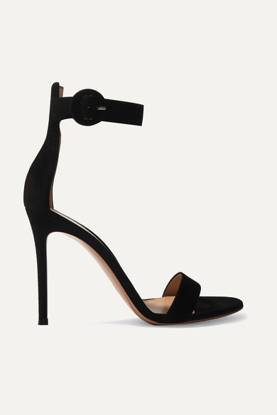 Gianvito Rossi Leather Slingback Sandals best seller cheap online clearance visa payment AZfVa9unSJ