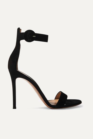 Portofino sandals - Black Gianvito Rossi AbpqmUrQD