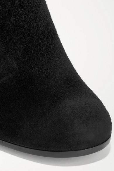 Günstig Kaufen Bilder Gianvito Rossi Margaux 65 Ankle Boots aus Veloursleder Countdown Paketverkauf Online Qualität Für Freies Verschiffen Verkauf Spielraum Komfortabel NxwFEt05k8