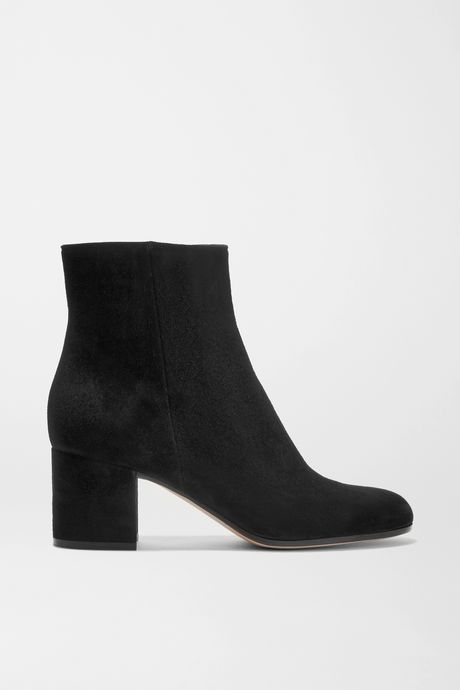 Black Margaux 65 suede ankle boots | Gianvito Rossi yq8Lzn