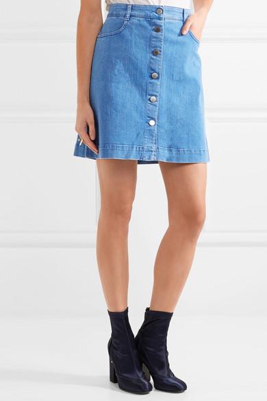 Stella McCartney | Stretch-denim mini skirt | NET-A-PORTER.COM
