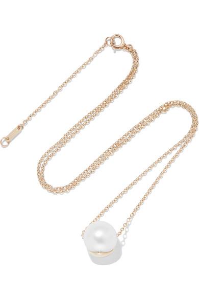 ea92faf93b1eef Mizuki   14-karat gold pearl necklace   NET-A-PORTER.COM
