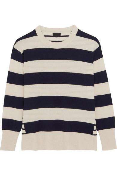 J.Crew - Cheyne Striped Cashmere Sweater - Cream