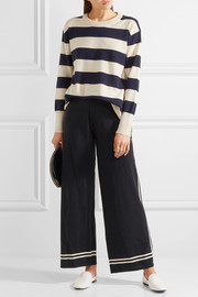 J.Crew Cheyne striped cashmere sweater
