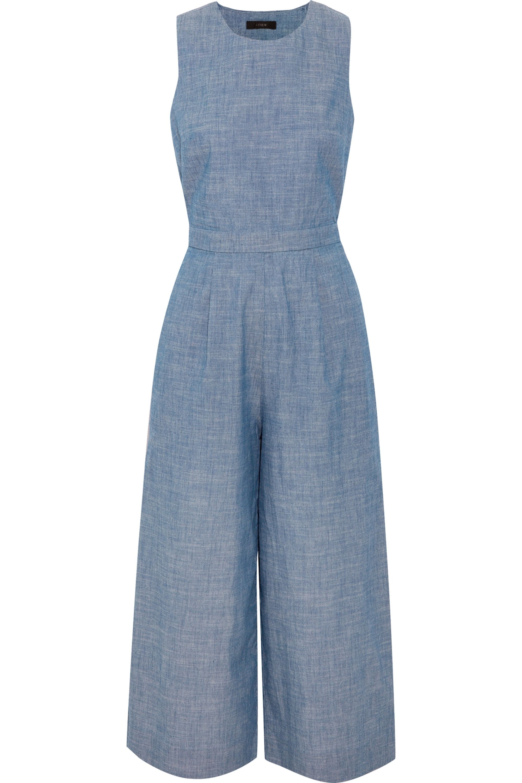 J.Crew Saron cotton-chambray jumpsuit