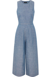 J.Crew Saron cotton-chambray jumpsuit