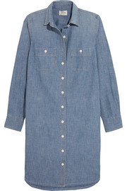 J.Crew Cotton-chambray dress