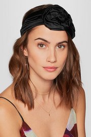 Silk-satin headband