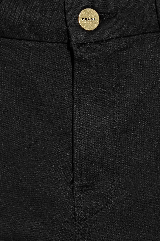FRAME Le Crop Mini Boot mid-rise jeans