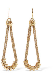 Alhambra gold-plated earrings