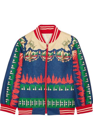 Anna Sui. New York jacquard bomber jacket