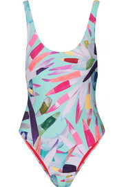 Marimba printed swimsuit
