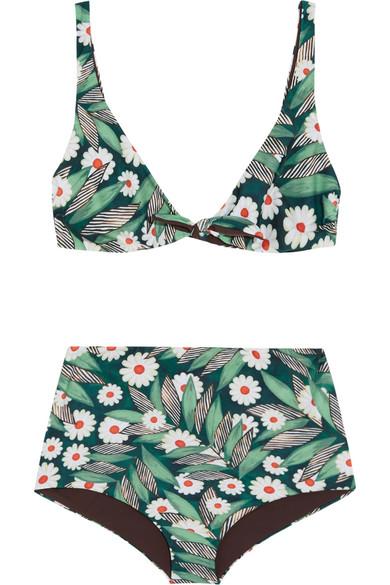 Mara Hoffman - Printed Bikini - Army green