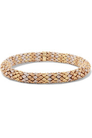 Carolina Bucci Twister 18-karat gold bracelet