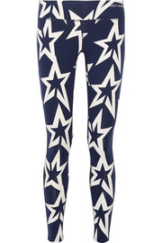 Star Light printed stretch leggings